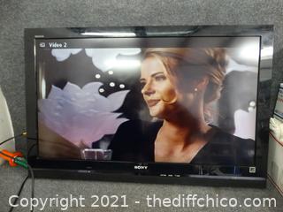 """Sony Bravia Tv 40"""""""