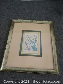 "Framed Art 15 1/2"" X 13 1/2"""