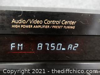Sony Audio Control Center Powers On