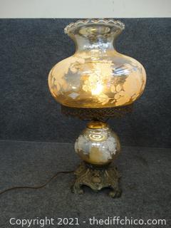 Working Hurricane Lamp