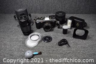 Konica 35mm Camera and More