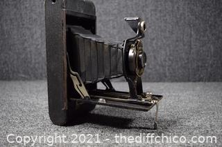 Vintage Folding Autographic No 2A Brownie Camera