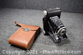 Tower Folding Camera w/leather case
