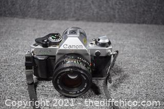 35mm Canon AE-1 Camera