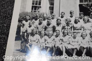 1947 Citrus Avenue Chico School Picture-signed on the back