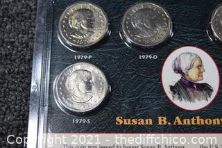 Collectible Susan B. Anthony Dollars