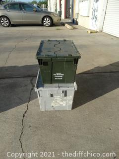 2 Flip Top Crate & Tub
