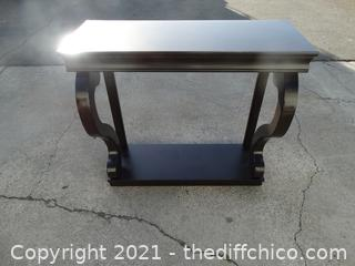 "Entry Way Table 33 1/2"" x 36"" x 14 """