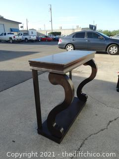 """Entry Way Table 33 1/2"""" x 36"""" x 14 """""""
