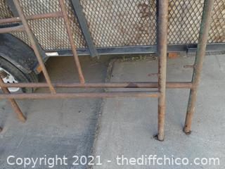 2 Metal Scaffolding Racks