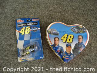 # 48 Race Car & Tin