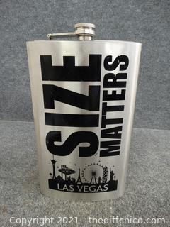 Large Las Vegas Flask