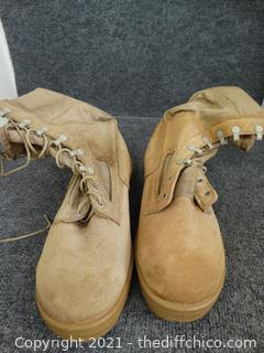 Military Boots 9.5