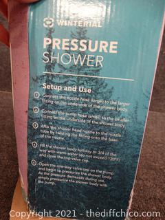 Winterail Pressure Shower