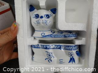 NEW Kitty Trinket Box