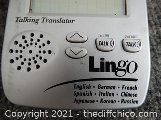 Lingo Talking Translator