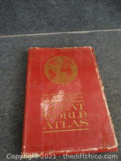 Readers Digest  Great World Atlas 1963