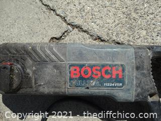 Bosch Concrete Drill Works