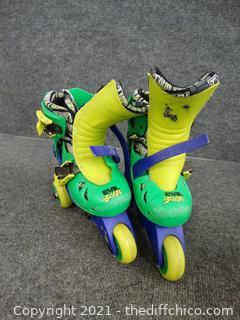Kids Ninja Turtle  Roller Blades