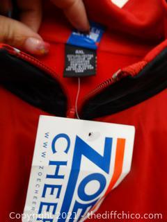 Zoe Cheer Zip Up XL