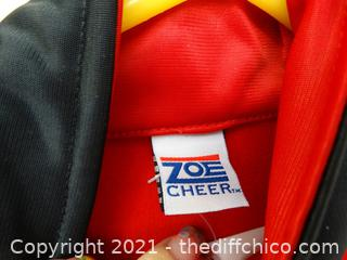 Zoe Cheer Zip Up Youth Small