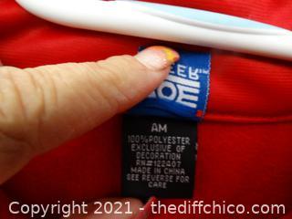 Zoe Cheer Zip Up Large