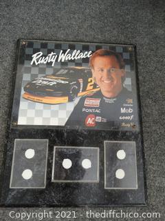 Randy Wallace Plaque