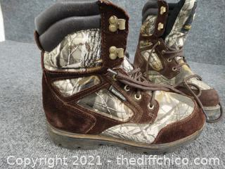 Water Proof  Thin Insulated Ultra Boots  Mens 8