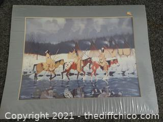 Native American Signed Art