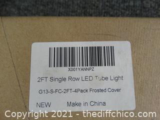 2FT Single  Row Led Tube Lights