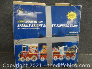 Santa Express Train Yard Decor
