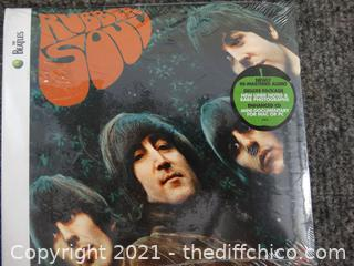 The Beatles Cd Rubber Soul Sealed