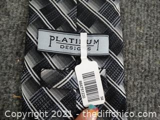 Platinum Tie