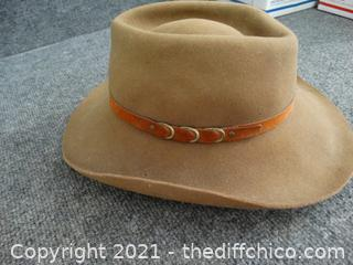 """Bailey Brown Hat 7 3/8"""""""