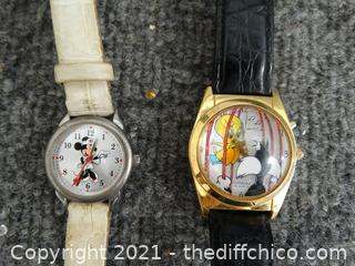 2 Disney Watches