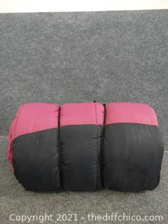 Black & Pink Sleeping Bag
