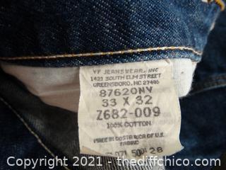 Rustler Jeans 33x 32
