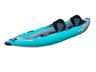 Driftsun Rover 220 Inflatable Two Person Whitewater Kayak (J9)