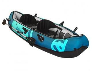 Elkton Outdoors 10' Inflatable Two Person Fishing Kayak (J10)