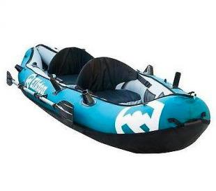 Elkton Outdoors 10' Inflatable Two Person Fishing Kayak (J11)