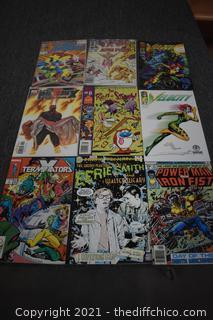 9 Comic Books