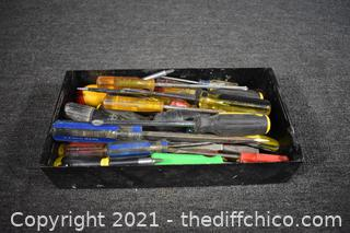 Mixed Lot of Screw Drivers