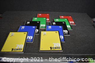 10 New Notebooks