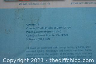 Canon Printer-powers up