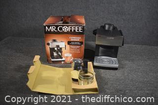 Mr. Coffee Expresso Maker