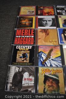 25 CD's