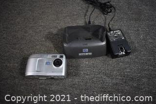 HP Camera - powers up