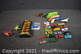 Collection of Toy Cars