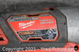 Milwaukee Impact Drive - Parts Only
