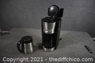 Hamilton Beach Coffee Maker - Powers up